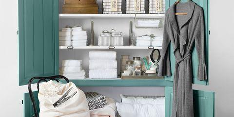 Armoire Linen Closet
