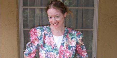 marisa lynch in floral dress