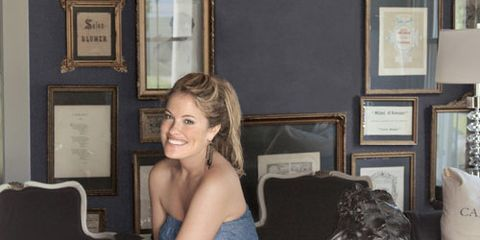 stylist and designer lizzie carney at home