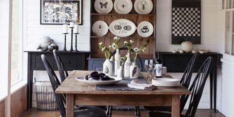 Wood, Room, Floor, Interior design, Hardwood, Flooring, Table, Ceiling, Furniture, Light fixture,