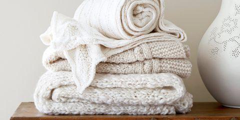White Throw Blankets
