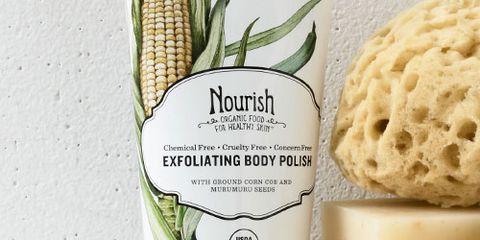 nourish exfoliating body polish