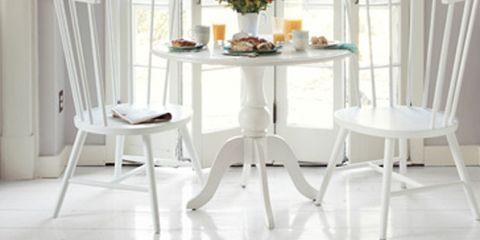 Room, Wood, Floor, Interior design, Flooring, White, Furniture, Table, Glass, Chair,