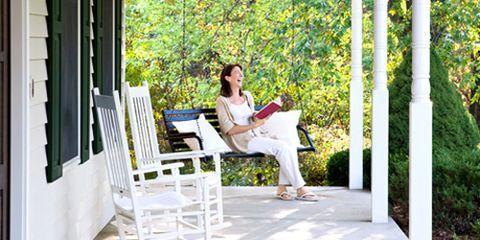 Human, Comfort, Leisure, People in nature, Sitting, Outdoor furniture, Door, Park, Shade, Love,
