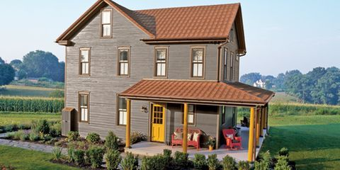 An Iconic American Farmhouse Gets Elegant Restoration