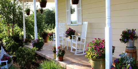 Country Living Readers\' Porch Photos - Best Porch Decorating Ideas