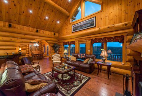 Waterfront Canadian House Tour Unique Log Homes