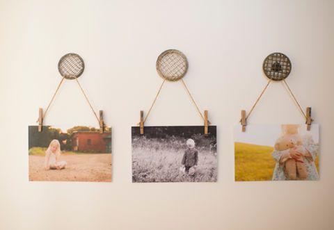Creative Ways To Display Photos Amy Lockheart Crafts