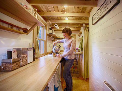 Small Home Decorating Ideas - Tumbleweed Tiny House
