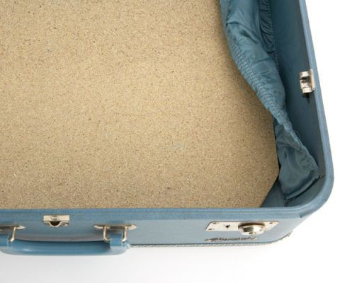 suitcase table craft step 1