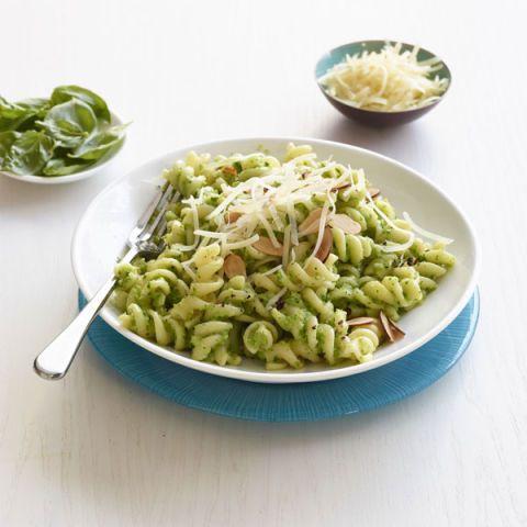 fusilli with broccoli pesto