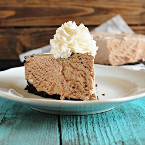 frozen hot chocolate cheesecake