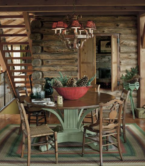 Log Home Decor: Decorating Ideas For Log Cabins