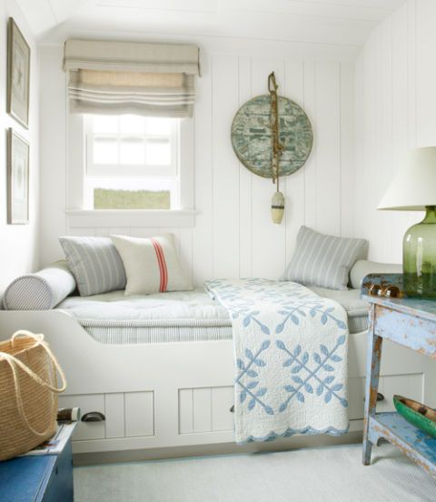 40+ Best White Bedroom Ideas - How to Decorate a White Bedroom Daybed Spare Bedroom Decorating Ideas on dining room decorating ideas, bathroom decorating ideas, daybed diy ideas, daybed home office ideas, daybed guest room decorating ideas, daybed bedroom furniture, living room decorating ideas, sitting room decorating ideas, daybed design ideas,