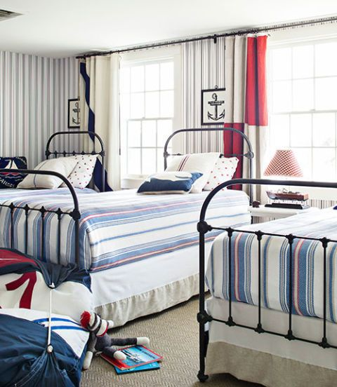 Nautical Style Teen And Bedrooms: Bedroom Design And Decorating