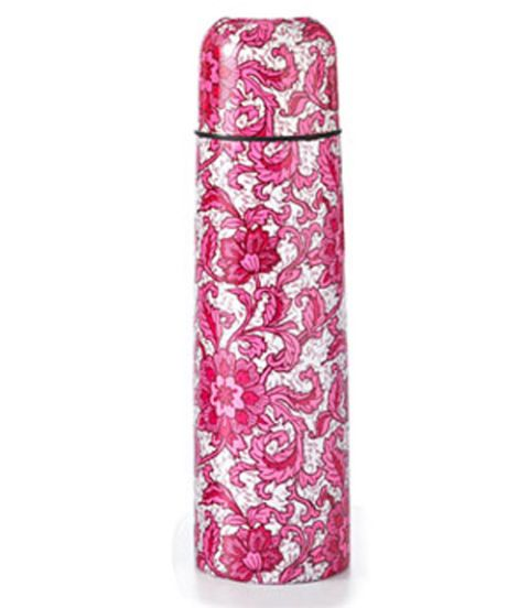 floral patterned thermos