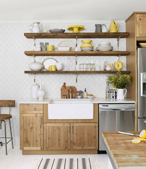 Cheapest Wood For Kitchen Cabinets: Shawn Henderson Kitchen Remodel