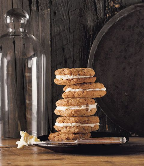 oatmeal ginger cream pies