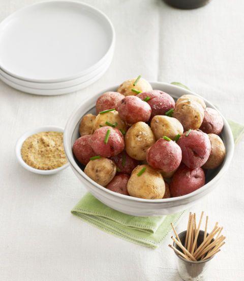 salt baked new potatoes