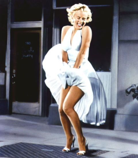 Marilyn Monroe's White Dress (1955)