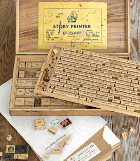 Business & Industrial Reliable Vintage Metal On Wood Printing Block Early Advertising Charicature Strong Packing