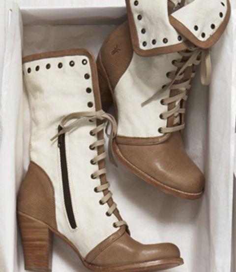 Footwear, Brown, Shoe, Boot, White, Tan, Fashion, Beige, Leather, Buckle,