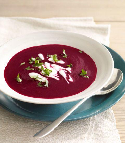 beet and cumin soup