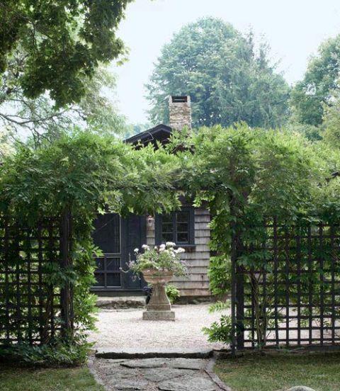 House, Property, Garden, Building, Tree, Botany, Architecture, Cottage, Botanical garden, Plant,