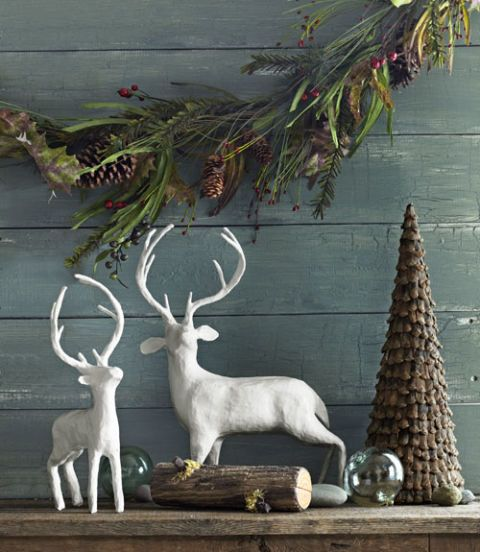woodland christmas decor