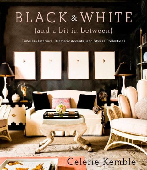 Black and White (and a Bit in Between): Timeless Interiors, Dramatic Accents, and Stylish Collections by Celerie Kemble