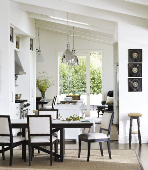 Charming Contemporary Dining Room