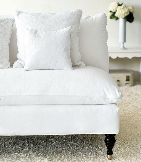 Genial White Sofa