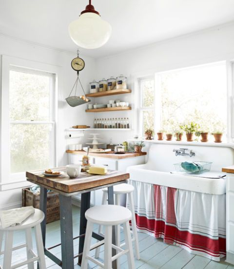 cozy kitchens how to make your kitchen cozy rh countryliving com cozy kitchen ideas pinterest