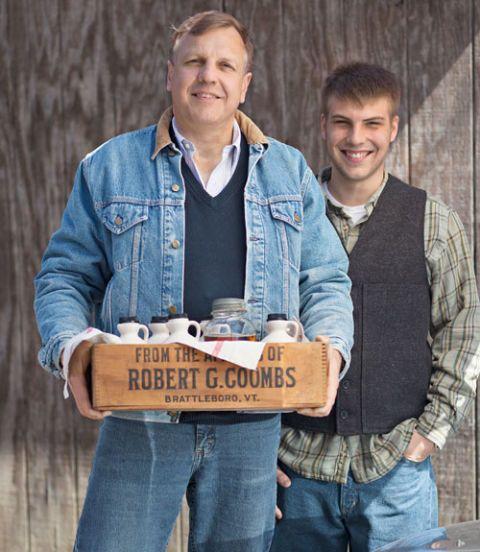 farmer and son