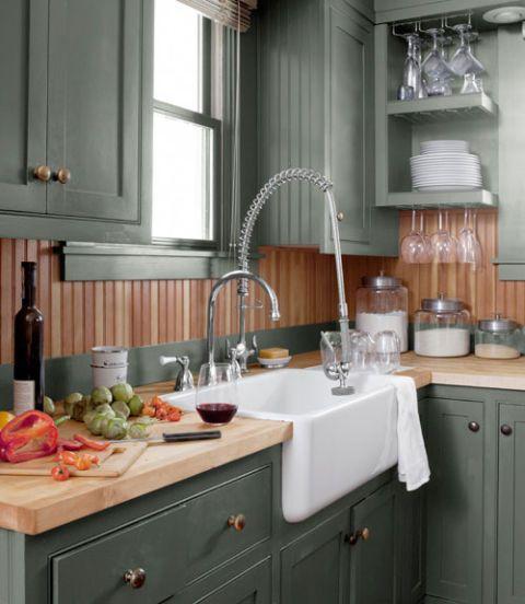 Room, Interior design, Plumbing fixture, Countertop, Kitchen, Interior design, Cabinetry, Home, Tap, Drawer,