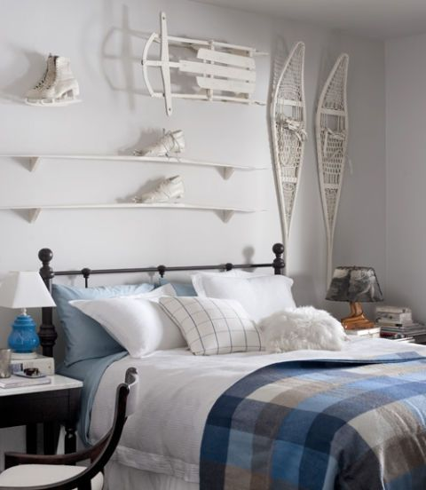 White Guest Room