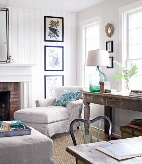 Wonderful White Living Room Interior Ideas: Ideas For White Living Room