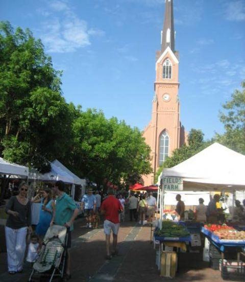 Charleston, South Carolina, Farmer's Market