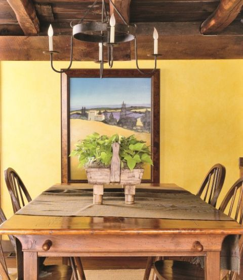 Yellow Decor Decorating With