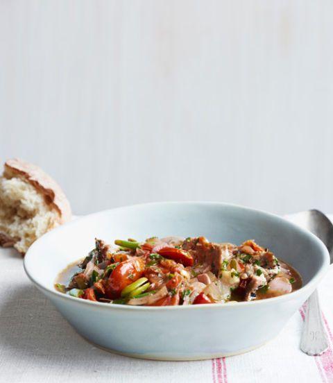 pork and tomato stew