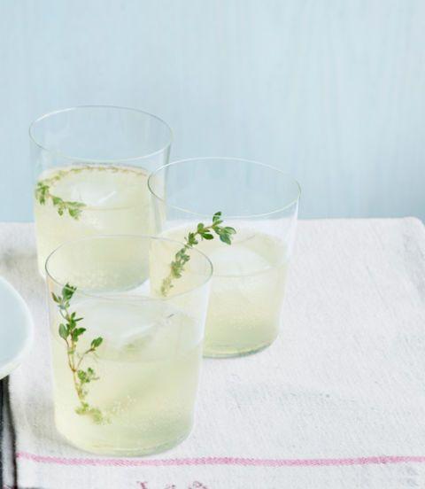 garden herb spritzer