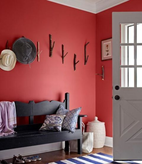 Red Mudroom