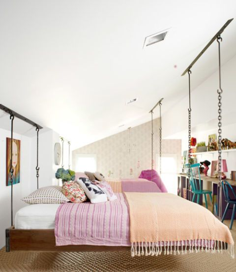 Country Living Magazine & How To Build A Hanging Bed - Hanging Bed Construction Plans