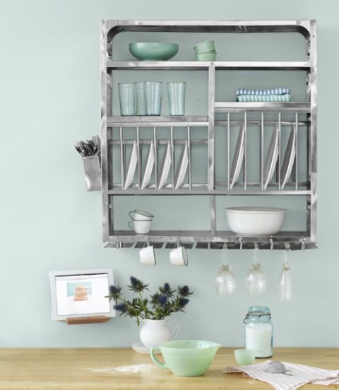 dish drainer easel