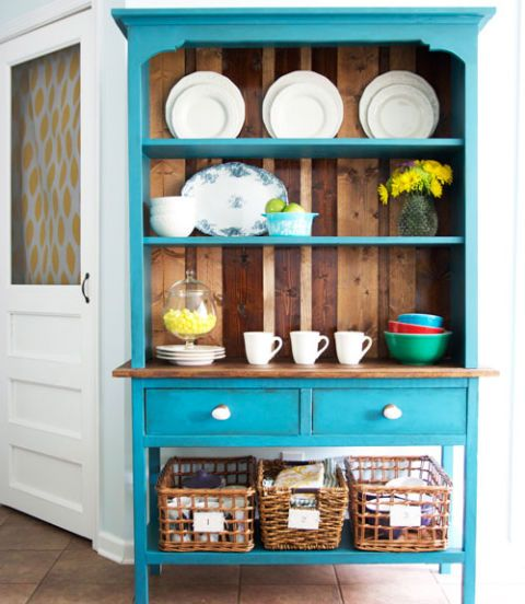 Blue, Shelving, Shelf, Door, Cupboard, Dishware, Teal, Porcelain, Turquoise, Serveware,