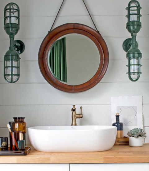 Make An Eye Catching Jewelry Stand From Plumber S Copper: 90 Best Bathroom Decorating Ideas