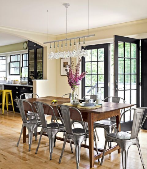 Country Dining Room Curtains: 85 Best Dining Room Decorating Ideas