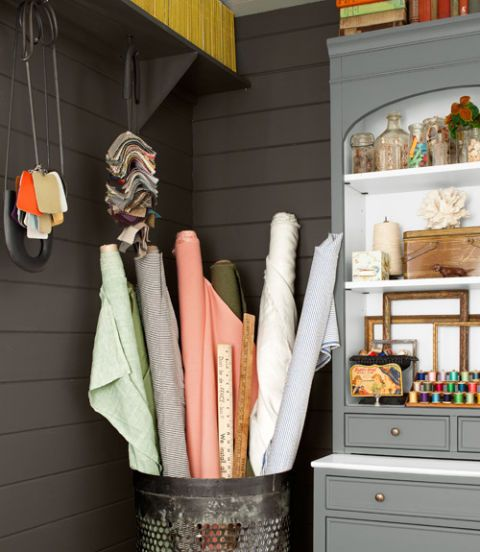 fabric rolls storage