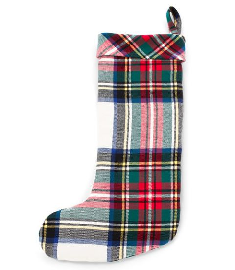 flannel christmas stocking