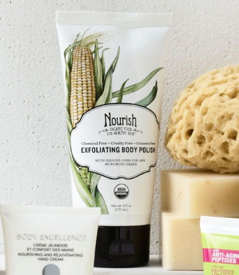 nourish exfoliating body polish
